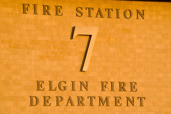 Elgin May 5, 2008 - Fire Station 7 is manned and operational!