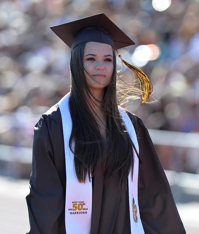 . 0620_NWS_TDB-L-WESTGRAD-- 20130619 - Torrance, CA --Daily Breeze Staff Photo: Robert Casillas / LANG --- West Torrance High School Class of 2013 Commencement ceremony.