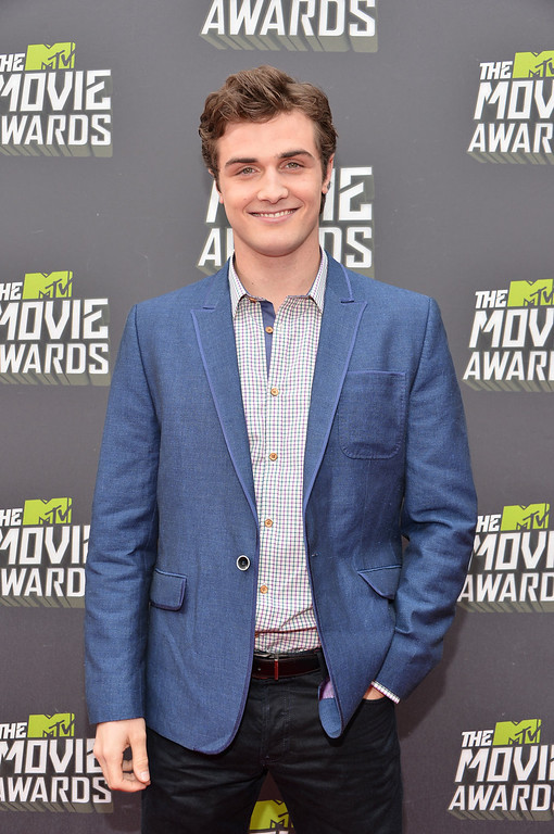 . Actor Beau Mirchoff arrives at the 2013 MTV Movie Awards at Sony Pictures Studios on April 14, 2013 in Culver City, California.  (Photo by Alberto E. Rodriguez/Getty Images)