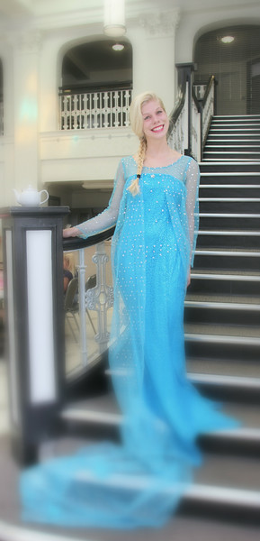 Her royal highness, Princess Elsa!