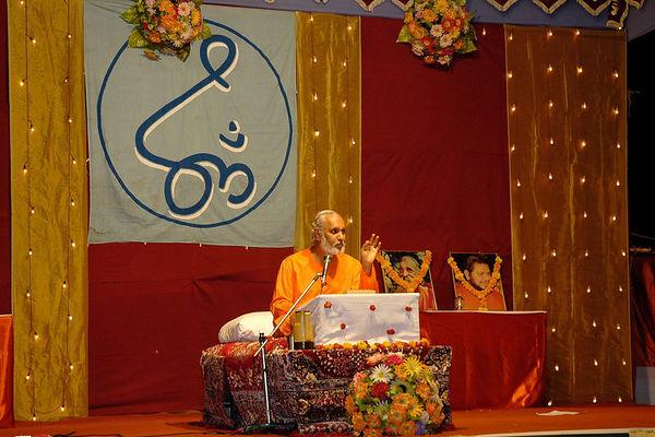 Chinmaya Mission Swami Ishwaranandaji's Yagna Jan'2006