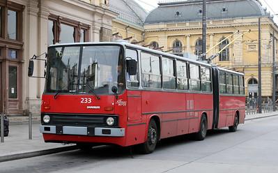 Trollybuses in Budapest