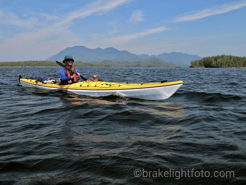 Crossing Milbanke Sound