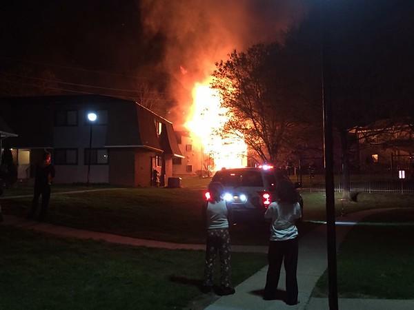 4-16-2016(Camden County)PINE HILL 220 W. Branch Ave. - 3 Alarm Apt. Fire