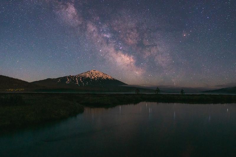 Mount Bachelor Milky Way