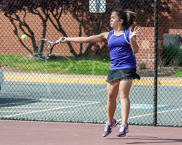Chantilly Tennis Girls v Oakton, Friday, May 2, 2014