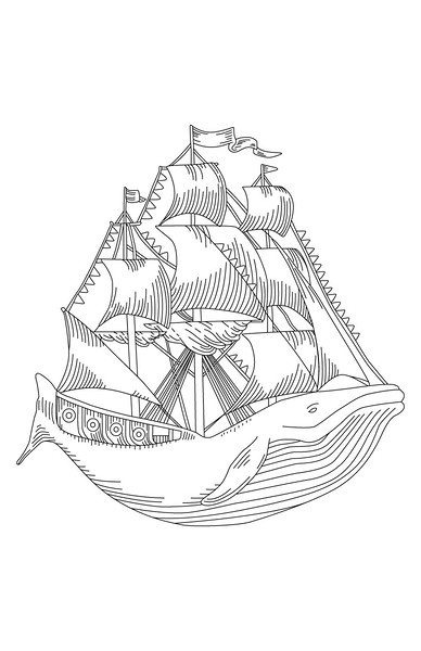 captain whaleship - shirt