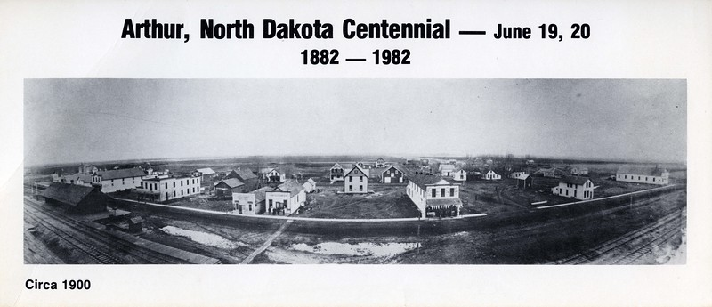 AR010.  Arthur Centennial postcard – Jun 1982 - photo ca 190.jpg