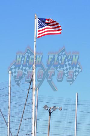 3-14-2014 USRA Stock Cars Humboldt Speedway
