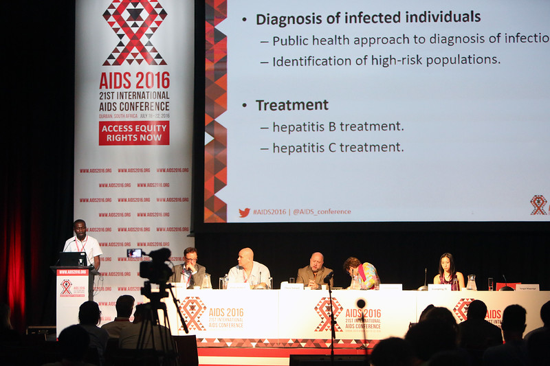 21st International AIDS Conference (AIDS 2016), Durban, South Africa. AIDS 2016 Pre-Conference Report Back (FRSS02) Friday 22nd July 2016 : Venue - Durban ICC - Session Room 7 The Panel Photo©International AIDS Society/Abhi Indrarajan