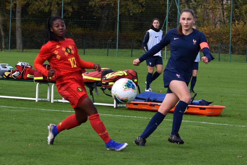 France U19 vs Belgian Red Flames U19  - Friendly