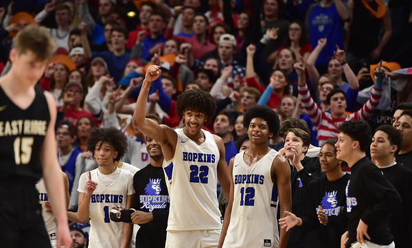 State boys basketball: Nnaji leads Hopkins past East Ridge, into 4A final