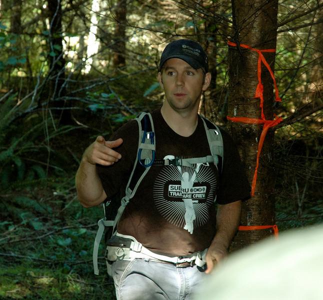 Steve Lommele - 2010 IMBA Trail Care Crew member