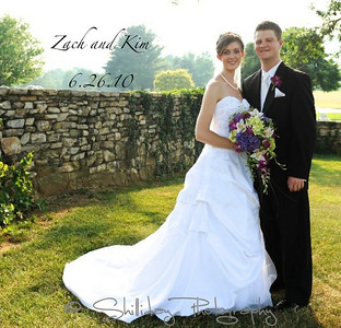 Zach and Kim Album proof BRIDE AND GROOM