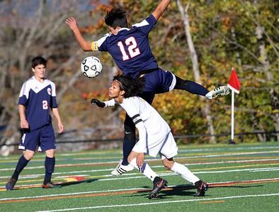 2016 BBA Boys Varsity Soccer vs Hartford photos by Gary Baker