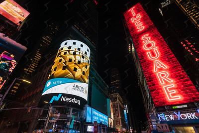 2020-11-24 Abitibi Royalties - Night Branding Shots