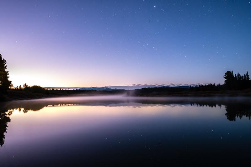 Twilight on the Snake River