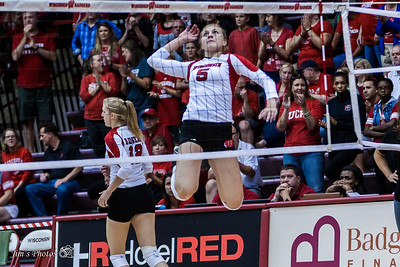 UW Sports - Volleyball - Game 2 - August 29, 2015