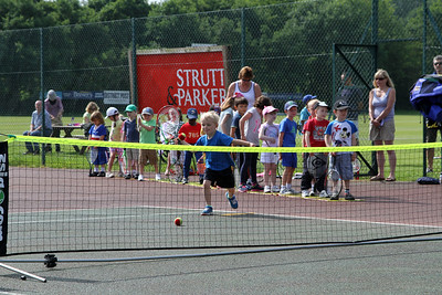 Tennis Open Day at HLTC 2014