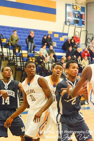 01-28-2014 Gaithersburg HS vs Magruder HS Varsity Boys Basketball, Photos by Jeffrey Vogt Photography