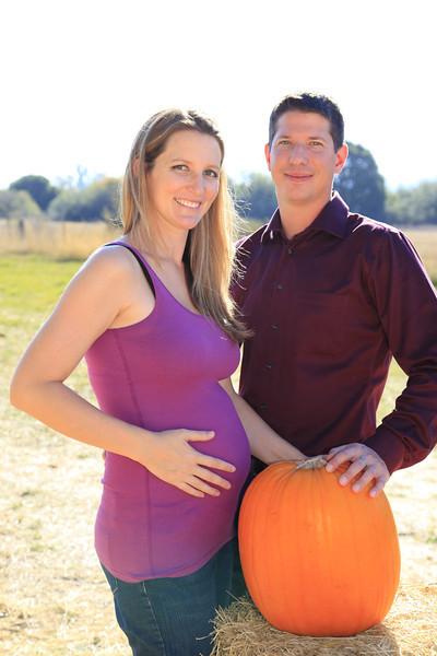Nikki&Brandon PumpkinPortrait
