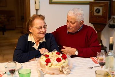 59° anniversario nonni Zanardo 30.12.2020