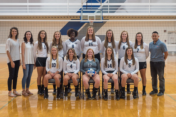 Moody Bible Institute Women's Volleyball 2017