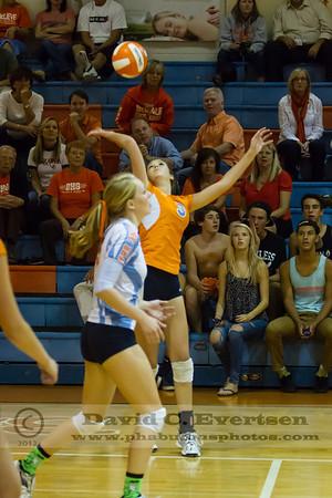 Cypress Creek @ Boone Braves Girls Varsity Volleyball District Playoffs - 2012