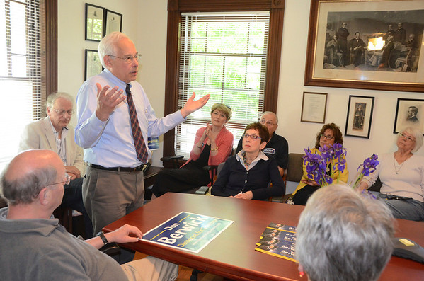 Don Berwick makes campaign stop in Pittsfield-060114