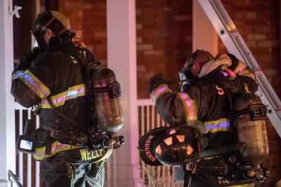 Powers Drive House Fire