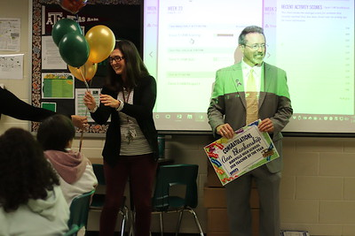 Superintendent Surprises Birdville High Teacher of the Year