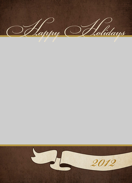 Brown Banner Front <br /> 5x7 Flat Card
