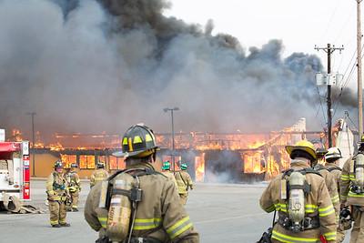 Warwick Lumber Yard Fire