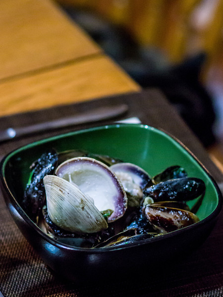 Mussels & Clam appetizer