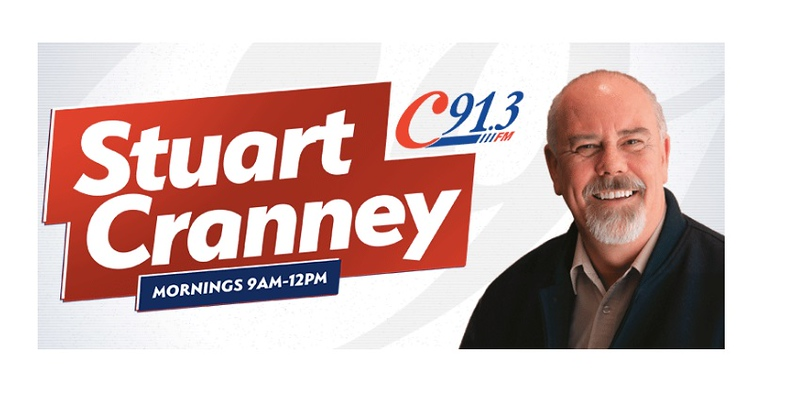 Stuart Cranney (photo credit: C91.3FM)