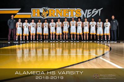 2019 Alameda HS Var Basketball