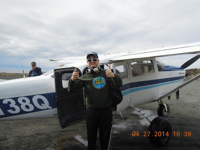 Brian had a good flight
