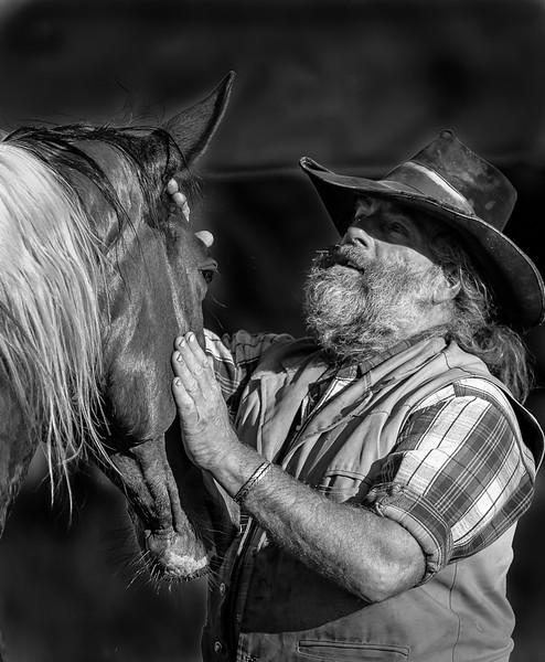 118.Jeff Armstrong.1. Cowboy & friend.jpg
