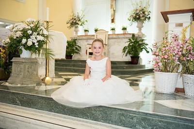 Olivera's 1st Holy Communion