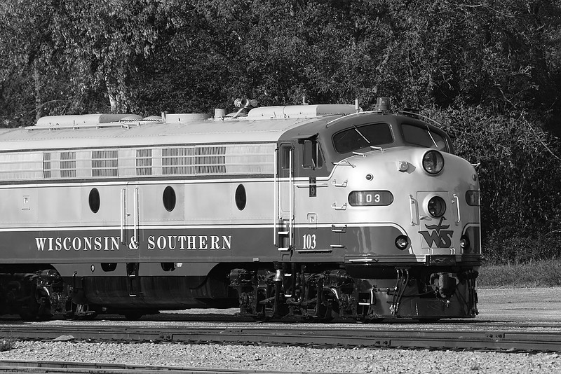 Wisconsin & Southern 103 (EMD E9A) - Janesville Yard