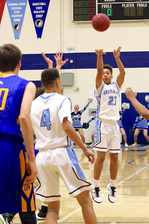 Jefferson vs. Davenport North Boys' Basketball 12/6/16