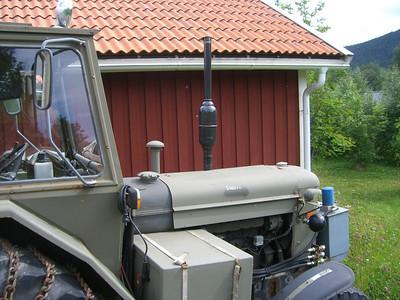 Tractors in Sweden