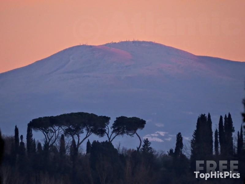 Monte Amiata in Tuscany, Italy