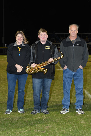 FCHS Band Senior Night 2017