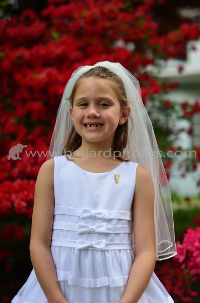 Emma's 1st Communion
