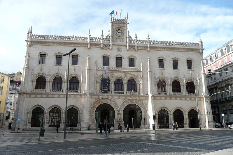 Teatro Nacional Dona Maria II. Baixa, Lisbon