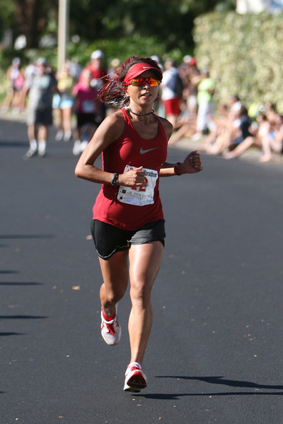Maui Marathon women's champion.