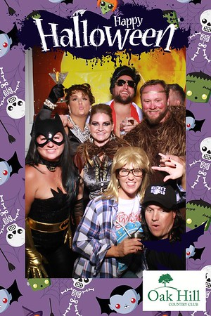 Oak Hill Country Club Halloween Party