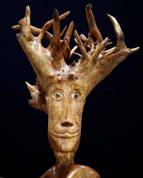 Wood carver Sam Craig - 082119