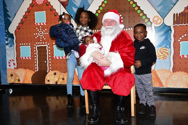 Red Cross Children's Holiday Party 2018